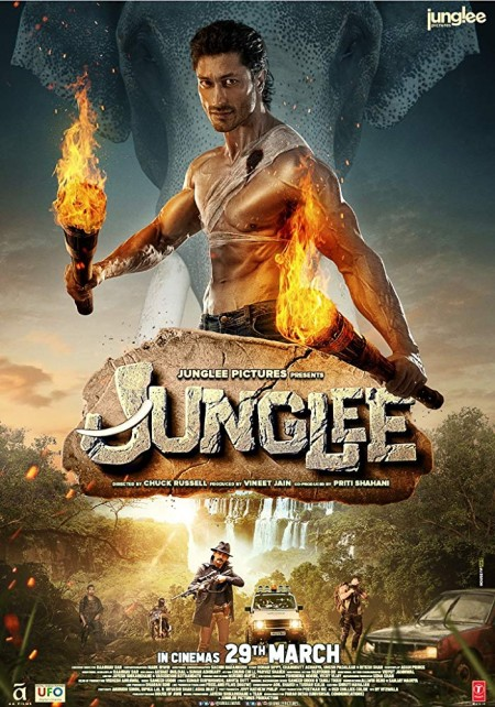 Junglee (2019) Hindi 720p HDRip x264 AAC ESubs -UnknownStAr Telly