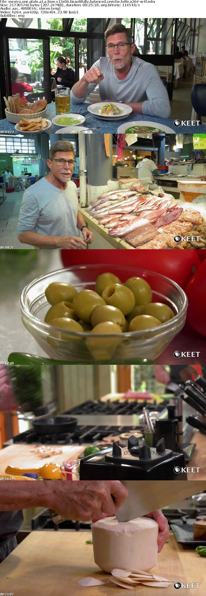 Mexico One Plate At A Time S12E06 Beautifully Balanced Ceviche HDTV x264-W4F
