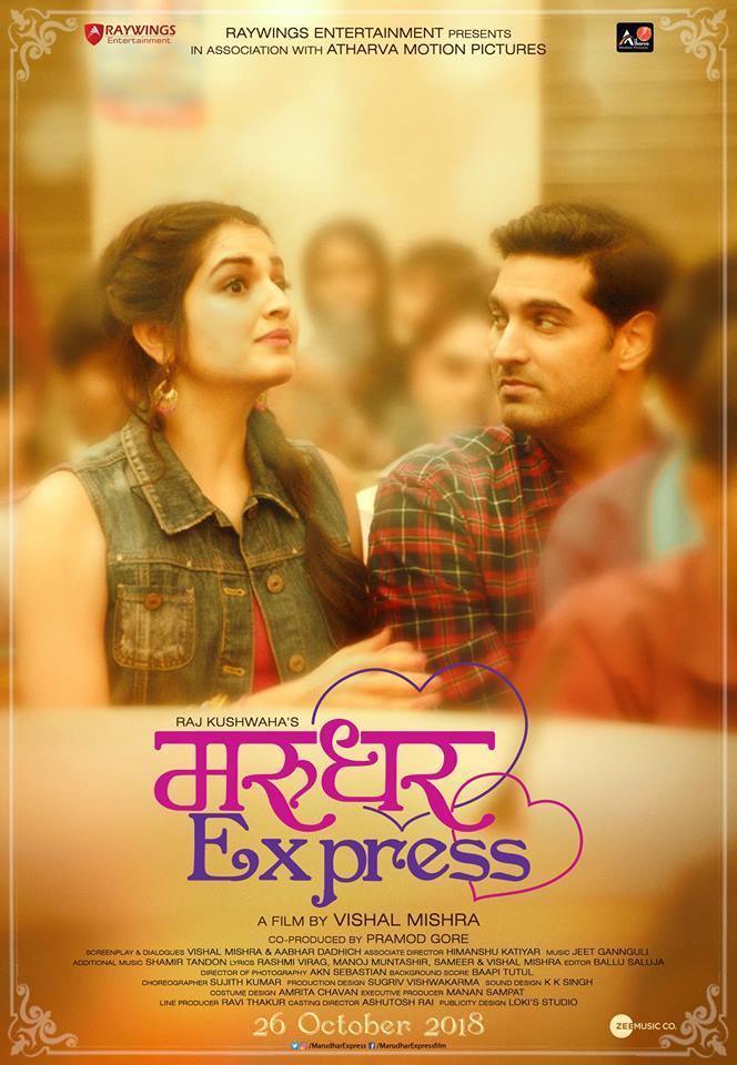 Marudhar Express 2019 Hindi 720p HDTVRip x264 AAC -UnknownStAr [Telly]