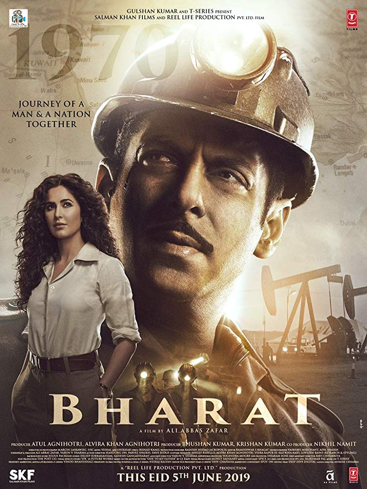 Bharat 2019 Hindi - HQ DVDScr - x264 - 700MB