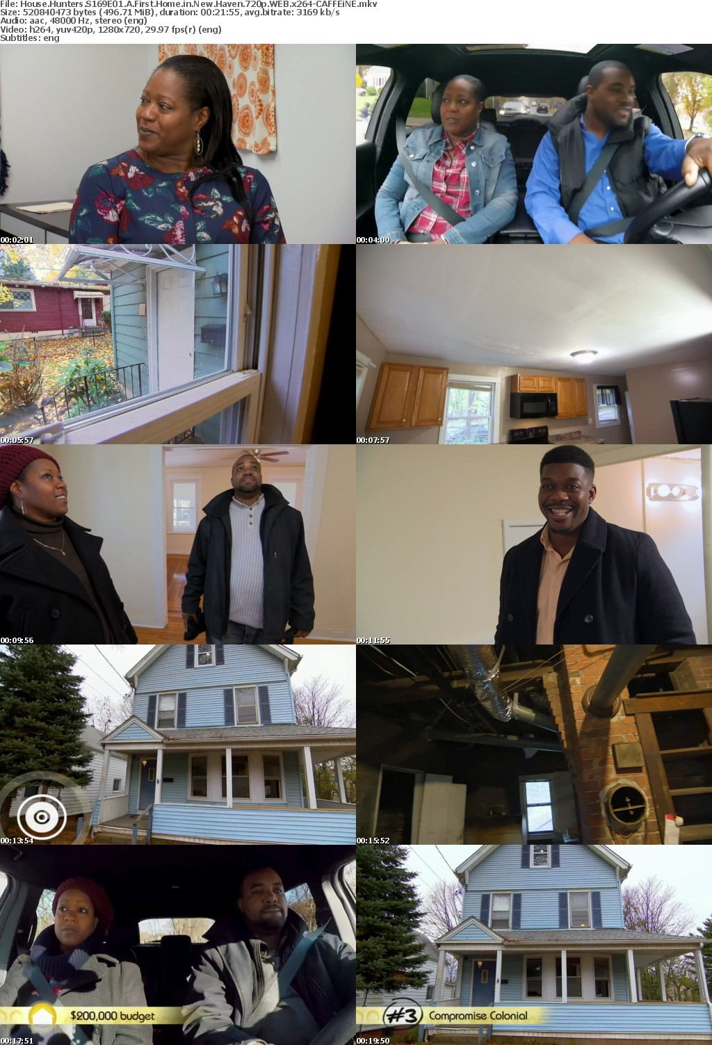House Hunters S169E01 A First Home in New Haven 720p WEB x264-CAFFEiNE
