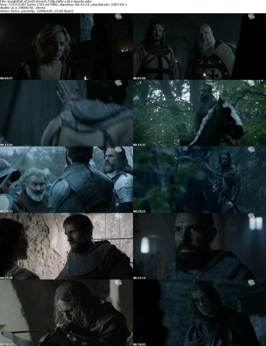 Knightfall S02E05 FRENCH 720p HDTV x264-HuSSLe