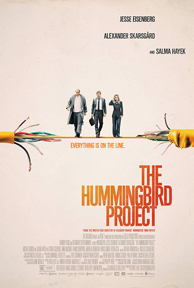 The Hummingbird Project 2019 HDRip XviD AC3-EVO[EtMovies]