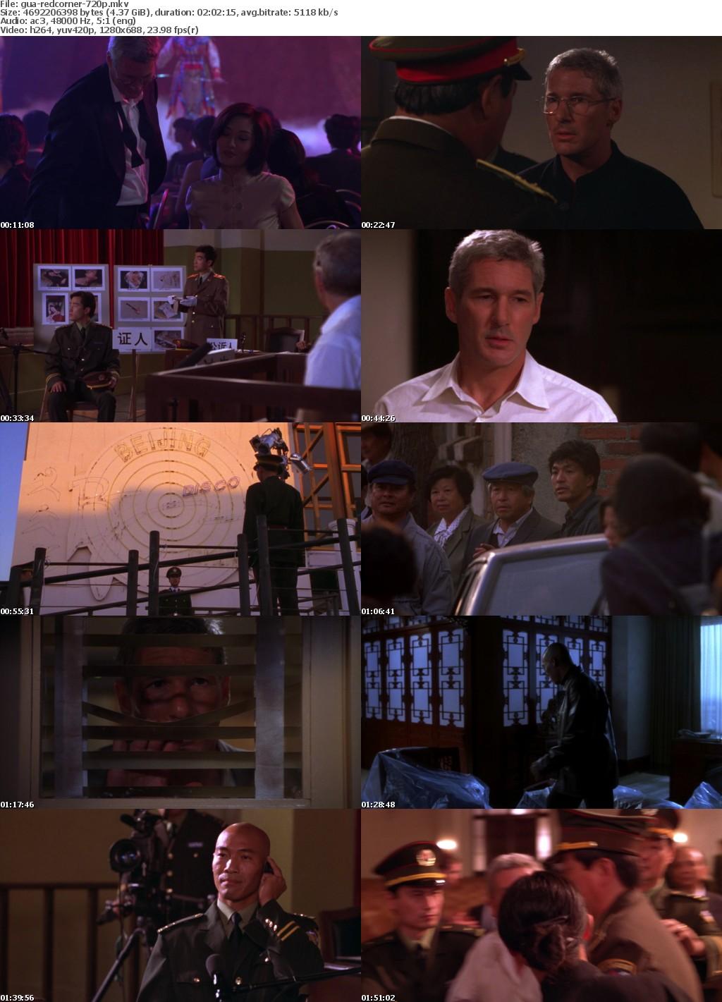 Red Corner (1997) 720p BluRay x264-GUACAMOLErarbg