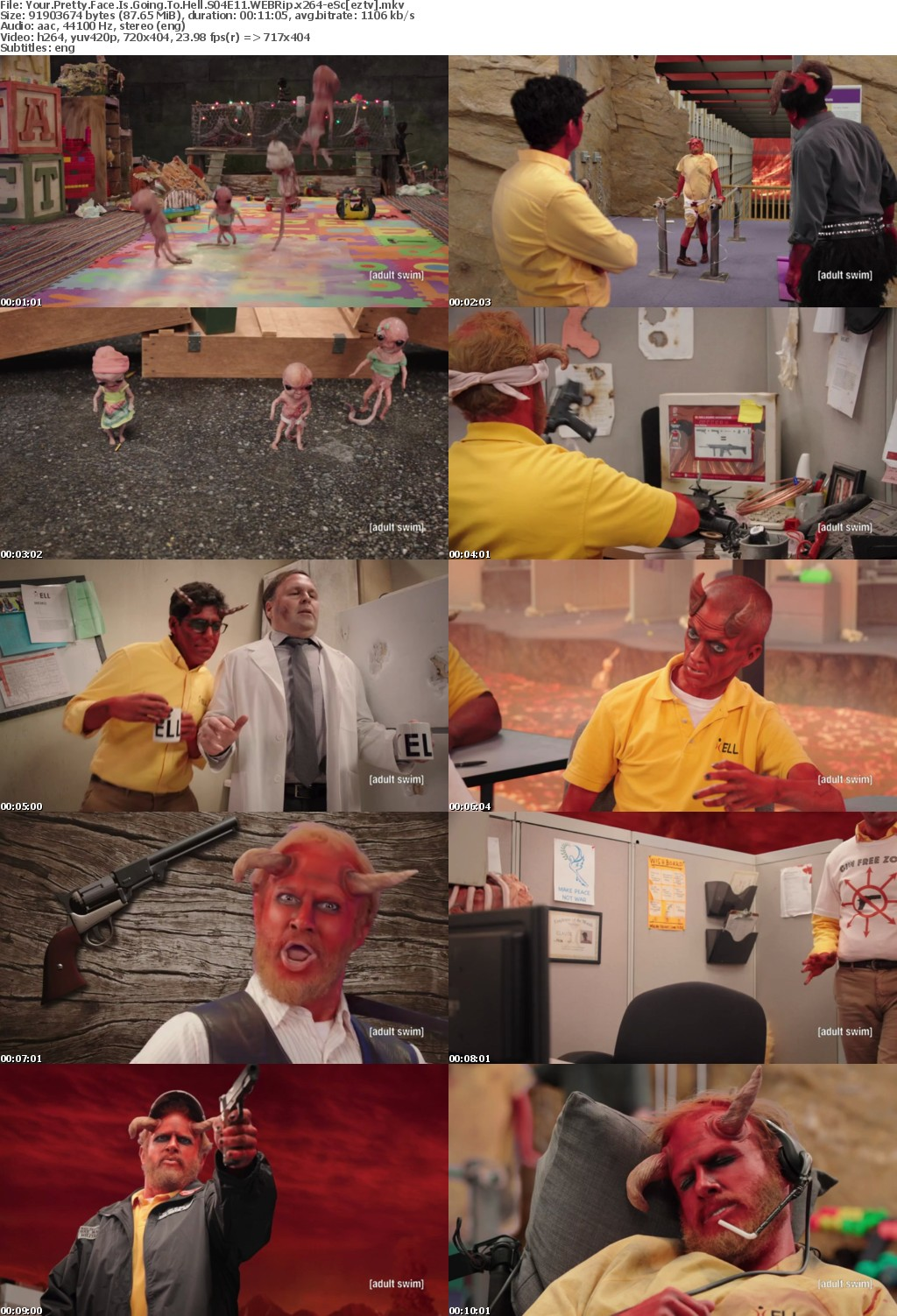 Your Pretty Face Is Going To Hell S04E11 WEBRip x264-eSc