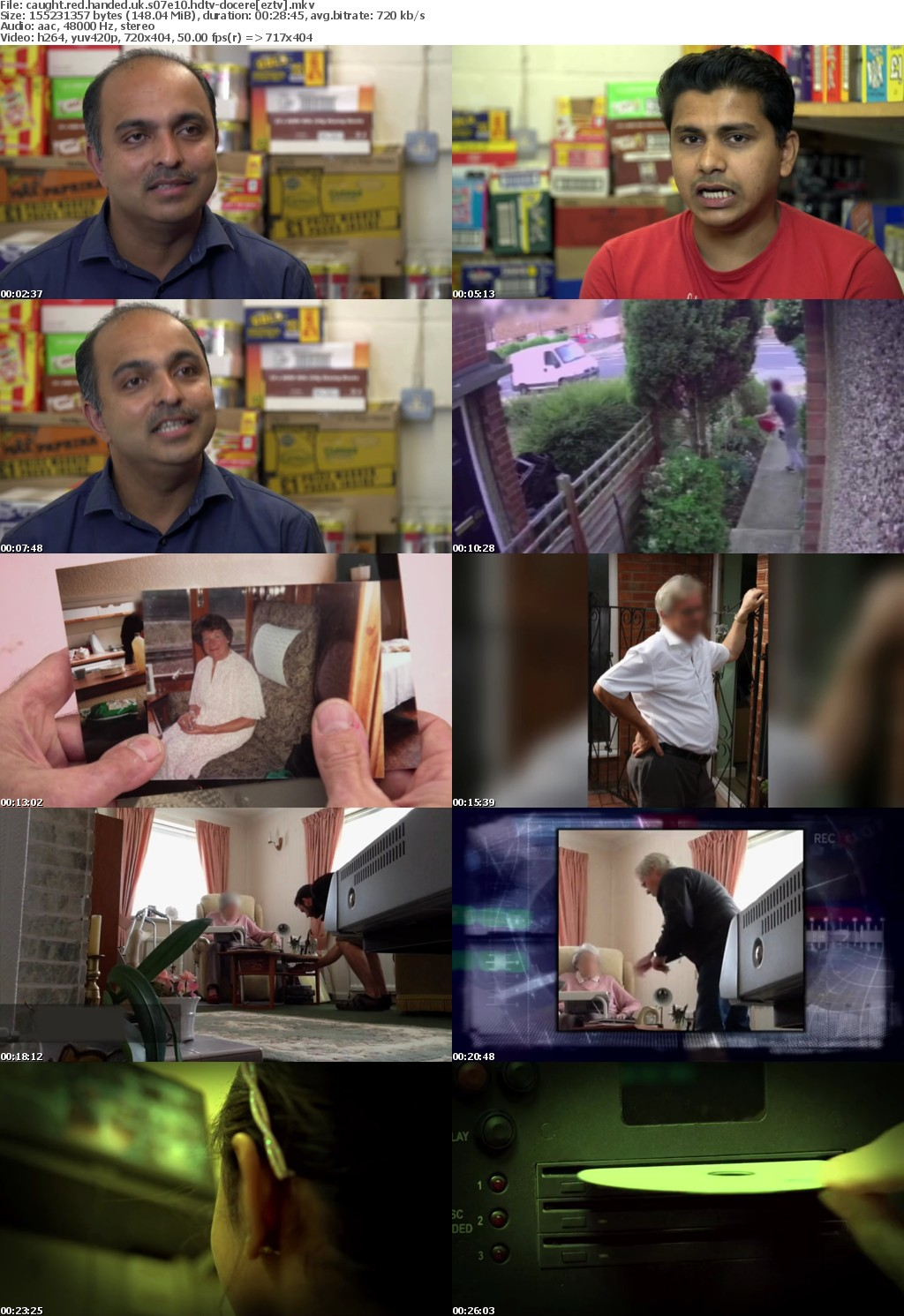 Caught Red Handed UK S07E10 HDTV x264 DOCERE