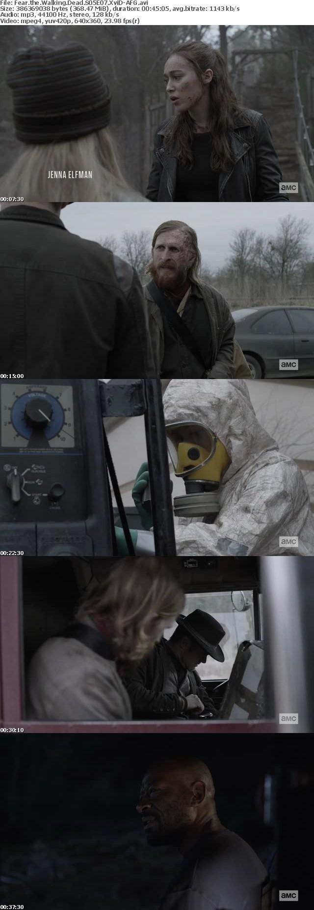 Fear the Walking Dead S05E07 XviD-AFG