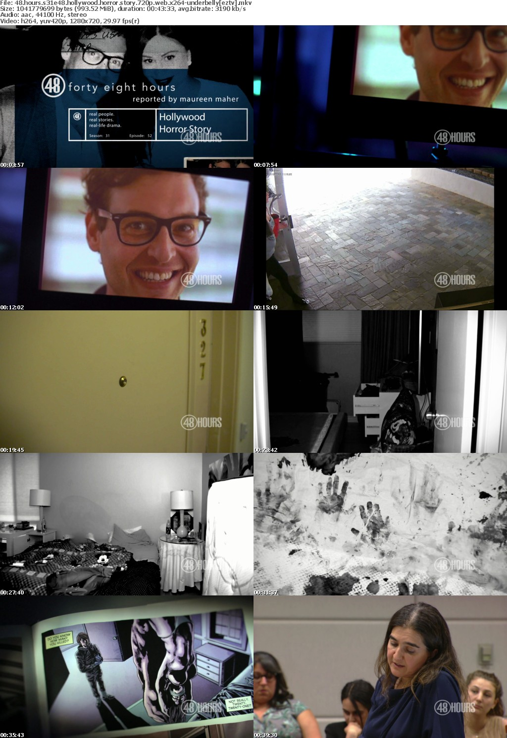 48 Hours S31E48 Hollywood Horror Story 720p WEB x264 UNDERBELLY