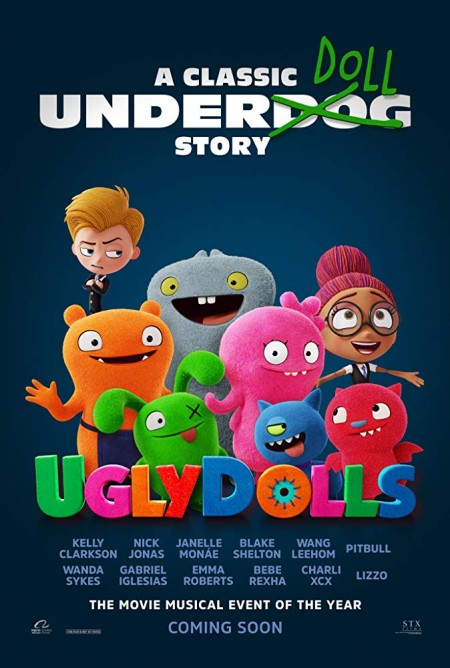 UglyDolls (2019) English HDRip 720p x264 AAC 750MB MB