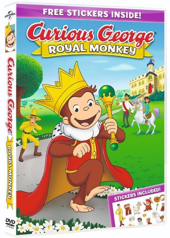 Curious George Royal Monkey 2019 HDRip XviD AC3-EVO
