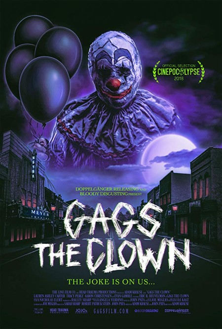 Gags The Clown (2019) 720p WEBRip 800MB x264 GalaxyRG