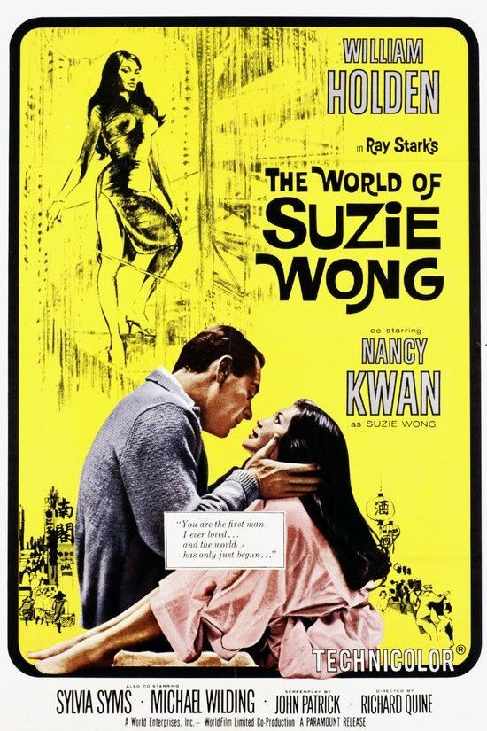 The World of Suzie Wong 1960 WEBRip XviD MP3-XVID