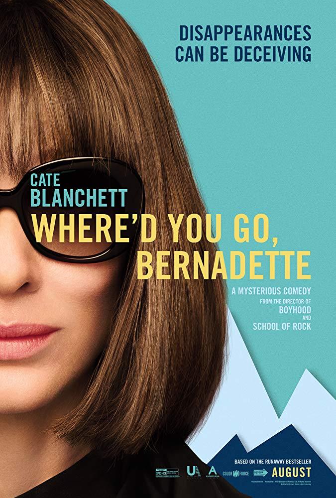 Whered You Go Bernadette 2019 720p BRRip XviD AC3-XVID