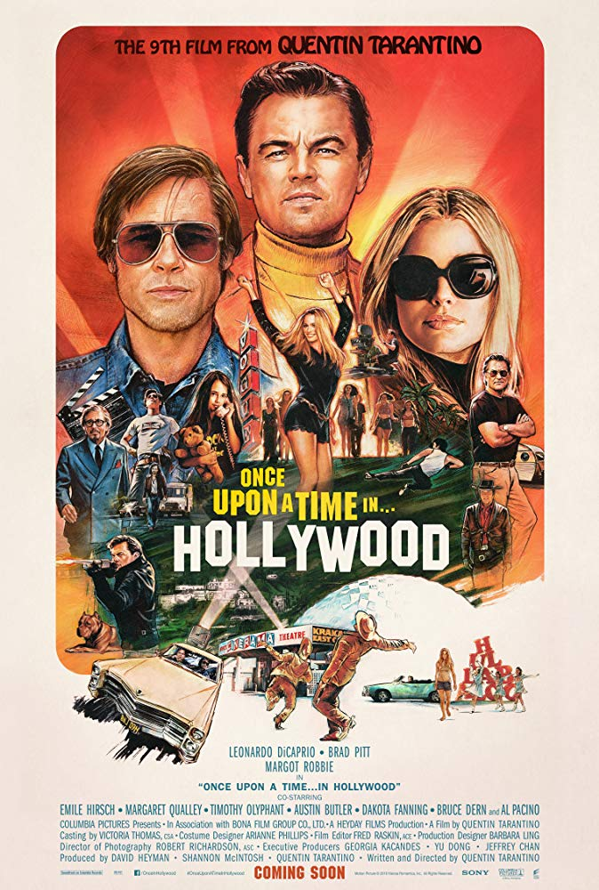 Once Upon a Time in Hollywood 2019 720p WEBRip XviD AC3-FGT