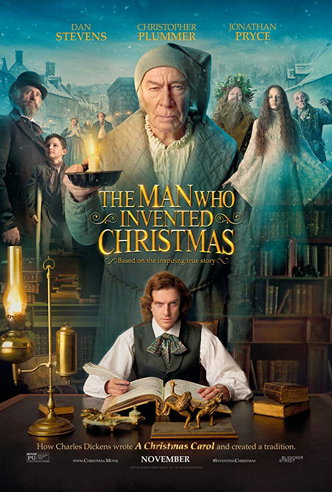 The Man Who Invented Christmas 2017 Mp-4 X264 1080p AAC[DSD]