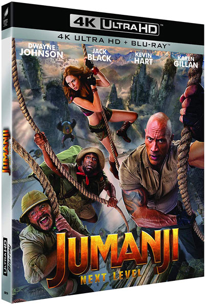 Jumanji The Next Level (2019) 720p BluRay x264 Dual Audio Hindi DD5.1 English DD5...