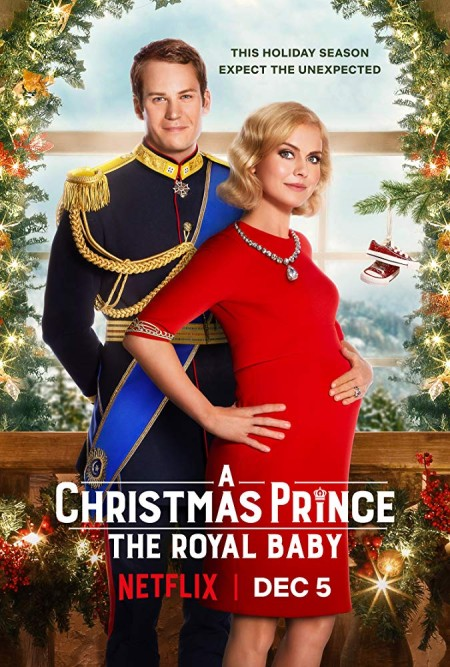 A Christmas Prince The Royal Baby 2019 720p NF WEBRip Hindi English x264 AAC 5 1 ESubs - LOKiHD - Telly