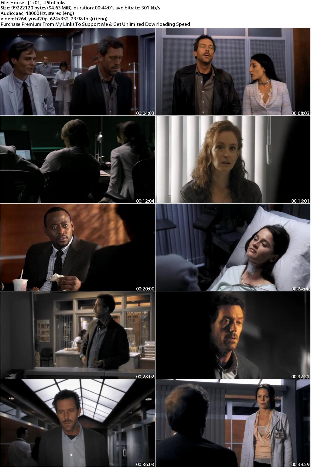 House M.D. Season 2 Complete 720p WEBDL x265 HEVC 5.5GB-Qman UTR