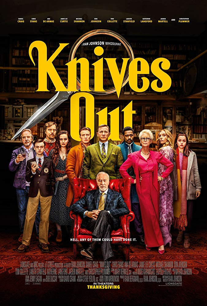 Knives Out 2019 720p BRRip XviD-REAPER