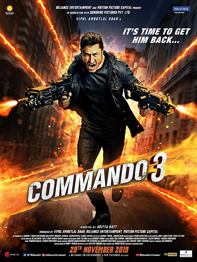 Commando 3 2019 1080p Zee5 WEB-DL AAC x264-BonsaiHD