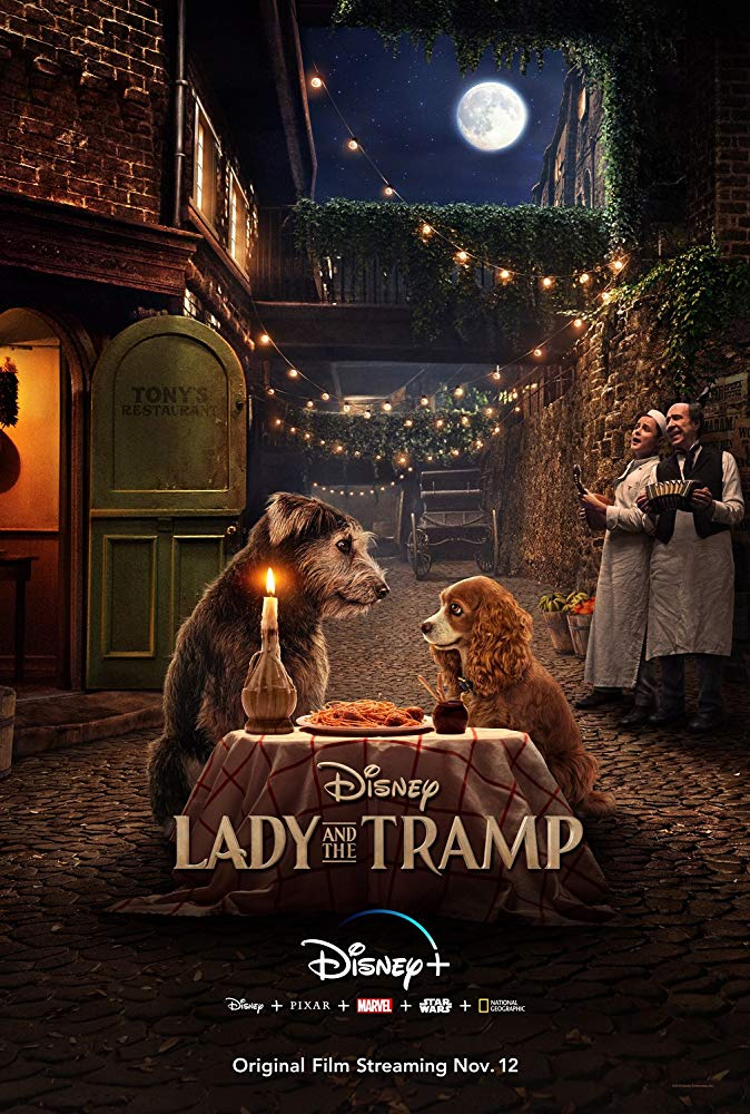 Lady and the Tramp 2019 1080p WEBRip DDP5 1 Atmos x264-NOGRP