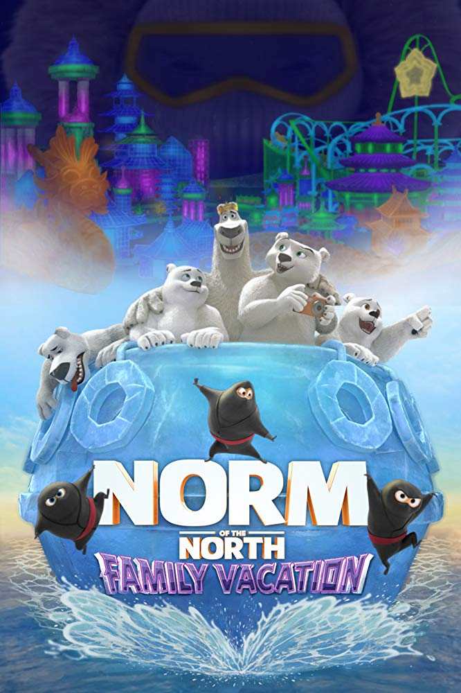 Norm of the North Family Vacation 2020 HDRip XviD AC3-EVO
