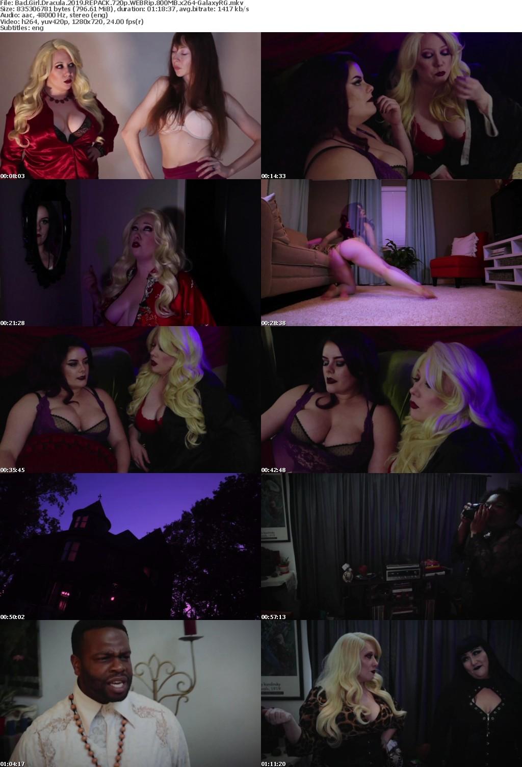 Bad Girl Dracula (2019) REPACK 720p WEBRip 800MB x264-GalaxyRG