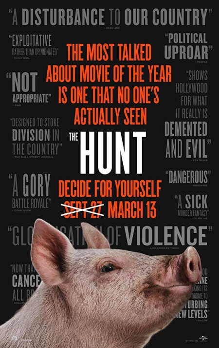 The Hunt 2020 720p WEBRip 800MB x264-GalaxyRG