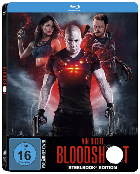 Bloodshot (2020) 720p HDRip - Hindi (HQ Aud) + Eng - x264 - 900MB - TAMILROCKERS