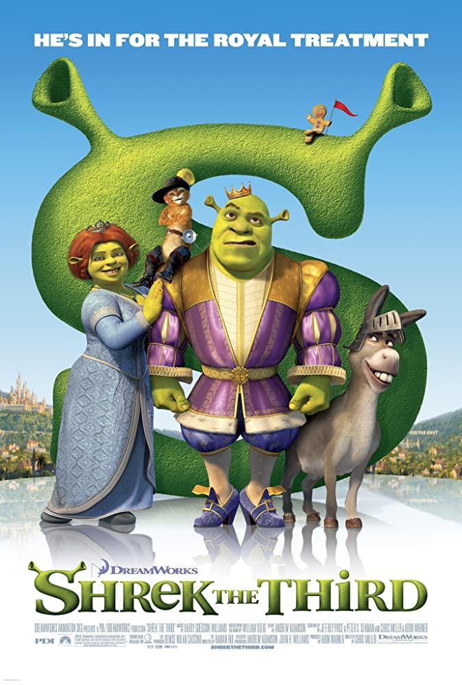 Shrek the Third 2007 1080p BluRay x265-RARBG