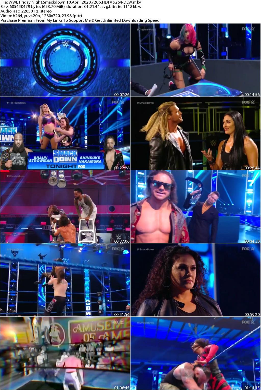 WWE Friday Night Smackdown 10 April 2020 720p HDTV x264-DLW