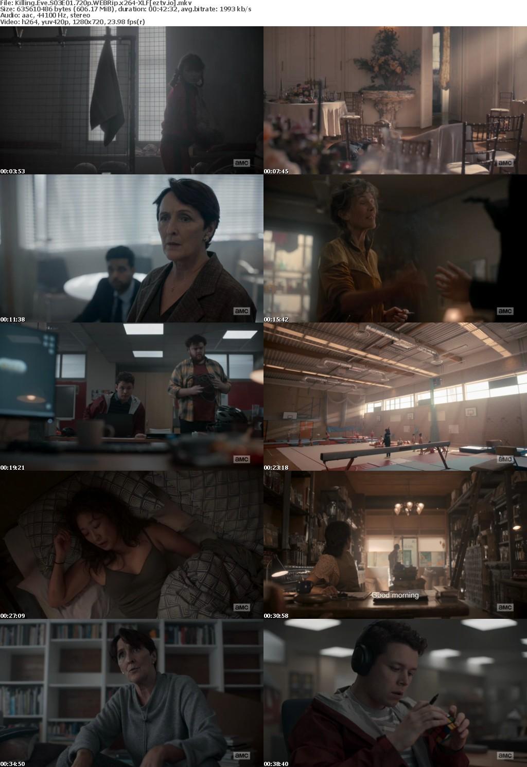 Killing Eve S03E01 720p WEBRip x264-XLF