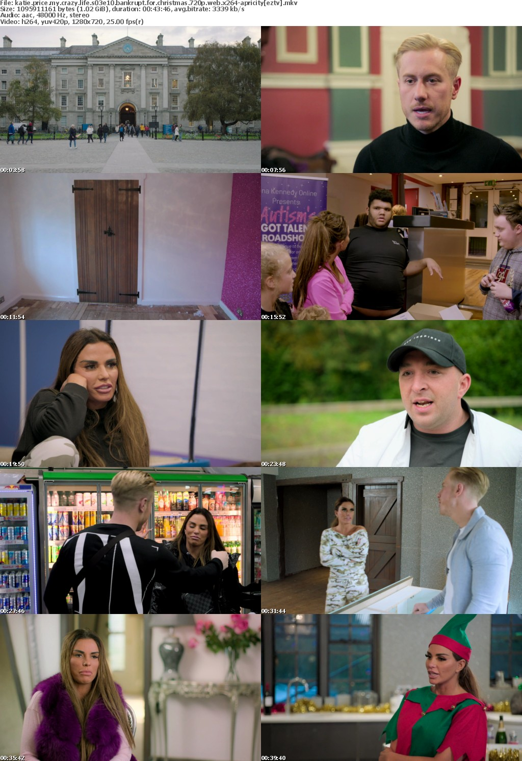 Katie Price My Crazy Life S03E10 Bankrupt For Christmas 720p WEB x264-APRiCiTY