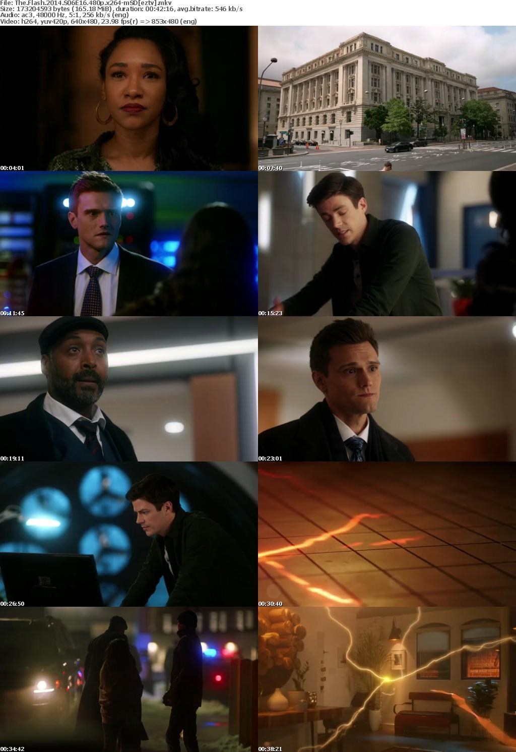 The Flash 2014 S06E16 480p x264-mSD