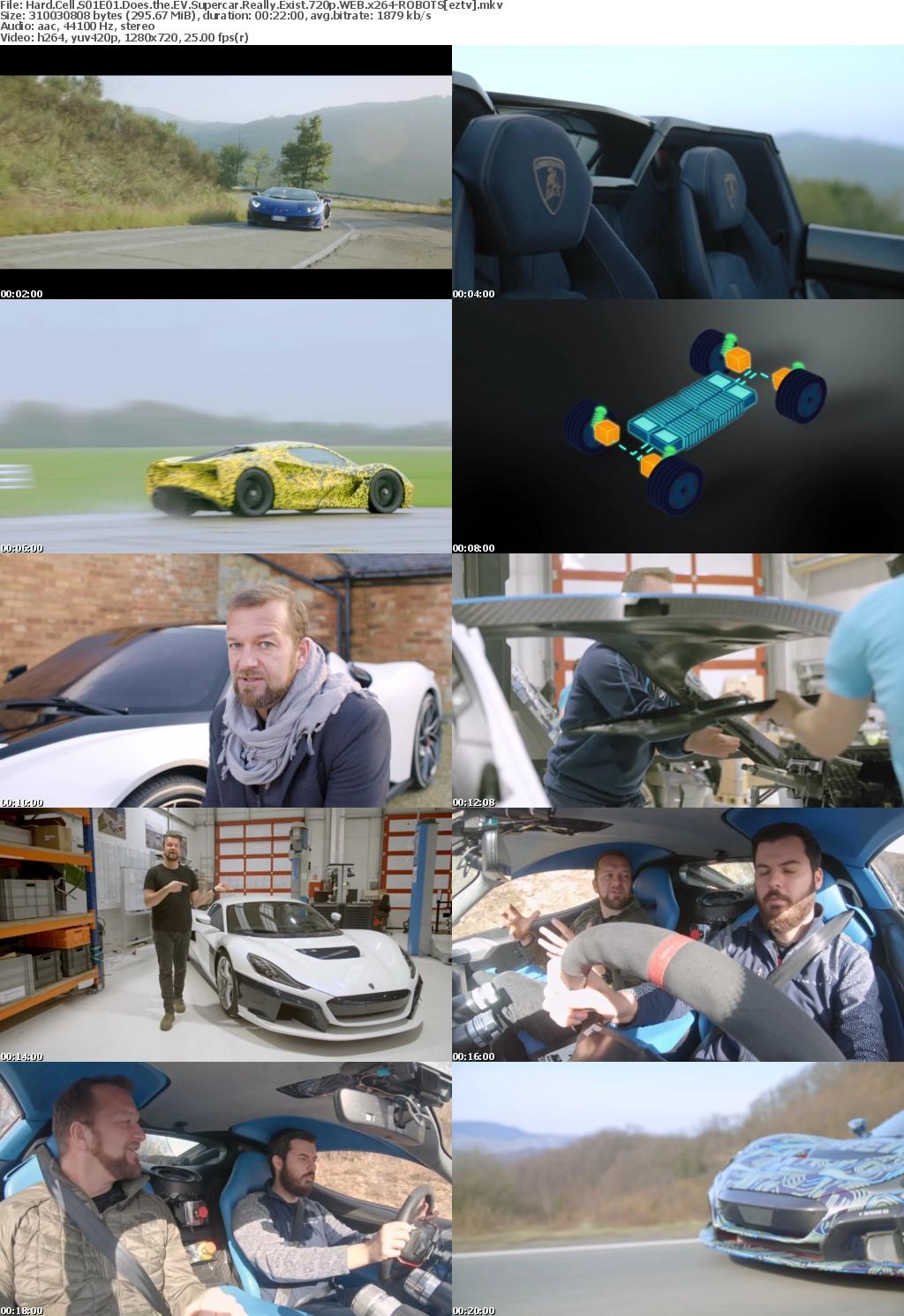 Hard Cell S01E01 Does the EV Supercar Really Exist 720p WEB x264-ROBOTS