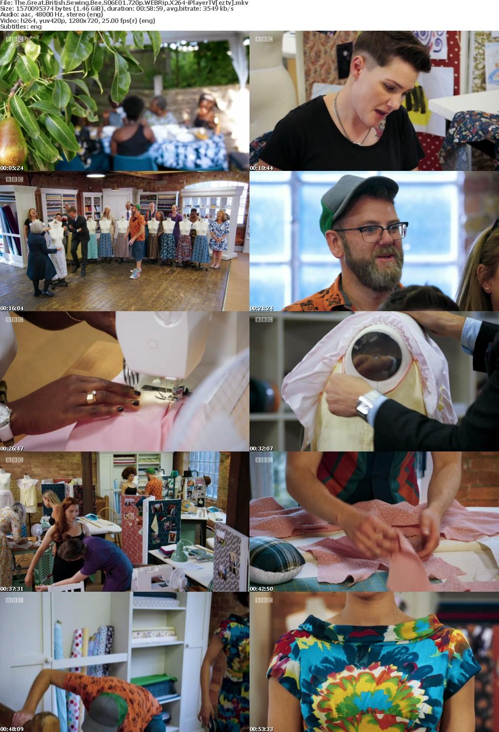The Great British Sewing Bee S06E01 720p WEBRip X264-iPlayerTV