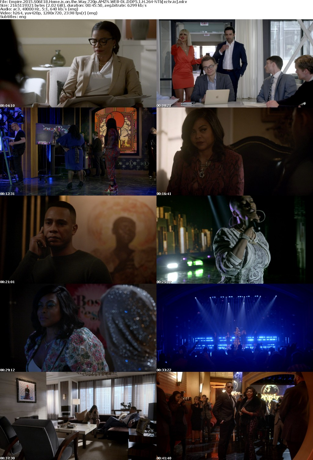 Empire 2015 S06E18 Home is on the Way 720p AMZN WEB-DL DDP5 1 H 264-NTb