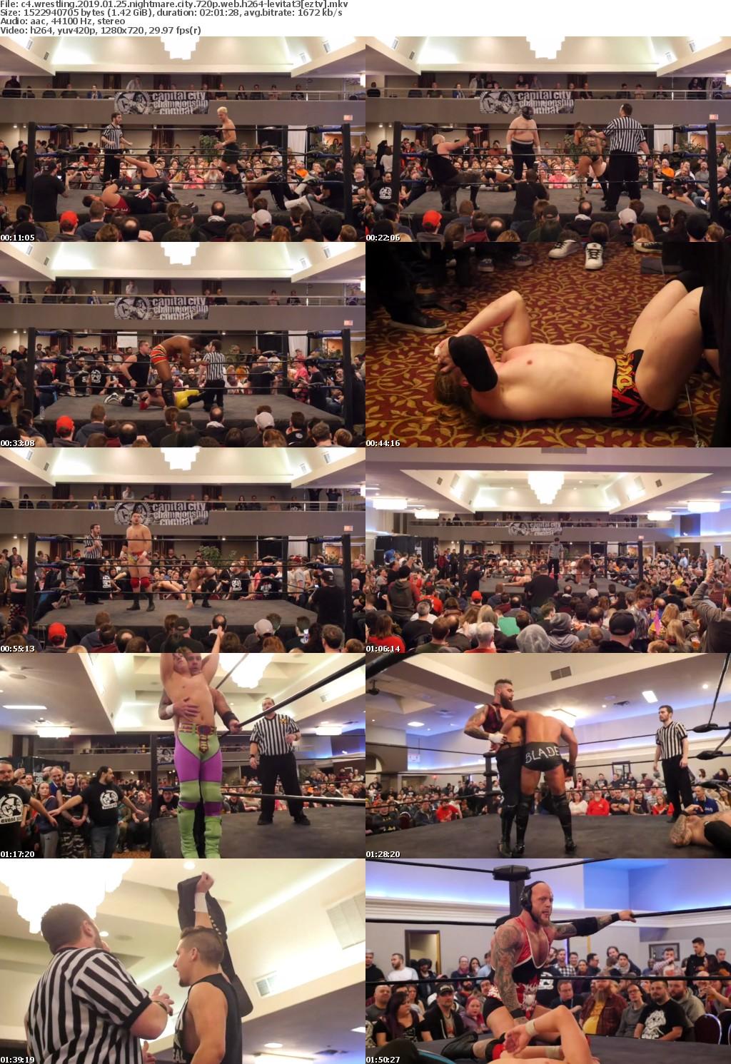 C4 Wrestling 2019 01 25 Nightmare City 720p WEB H264-LEViTAT3