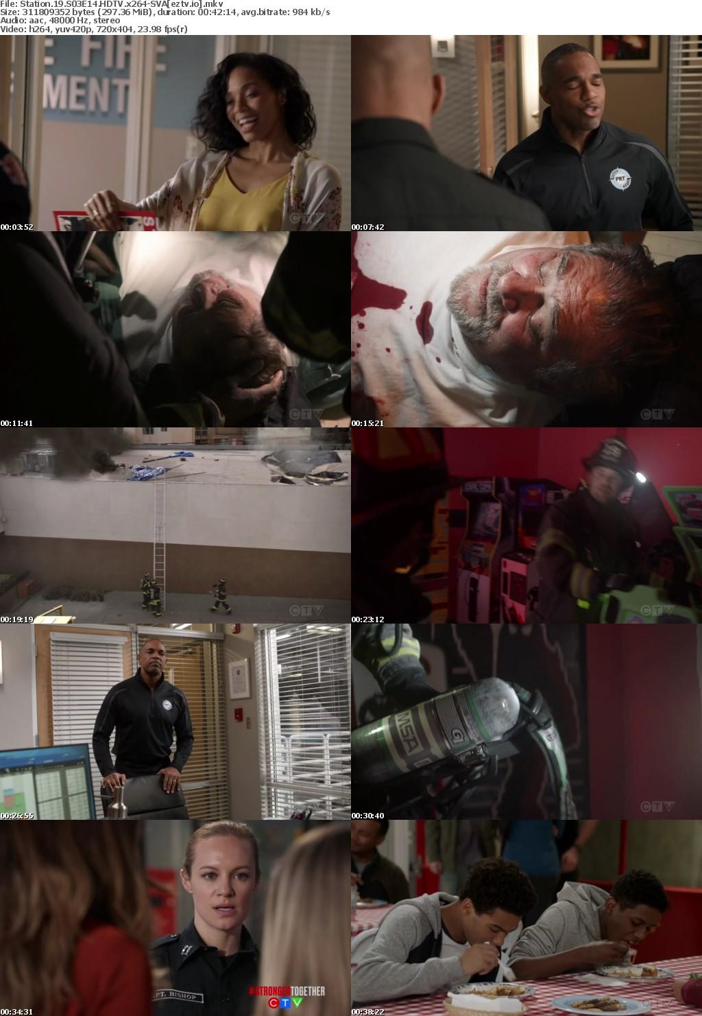Station 19 S03E14 HDTV x264-SVA