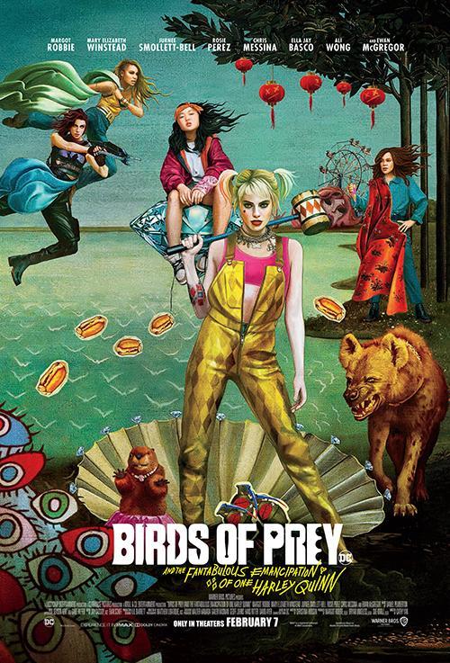 Birds of Prey And The Fantabulous Emancipation of One Harley Quinn 2020 NTSC DVDR-JFKDVD