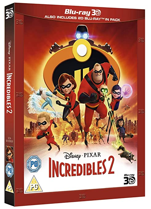Incredibles 2 (2018) 3D HSBS 1080p BluRay x264-YTS