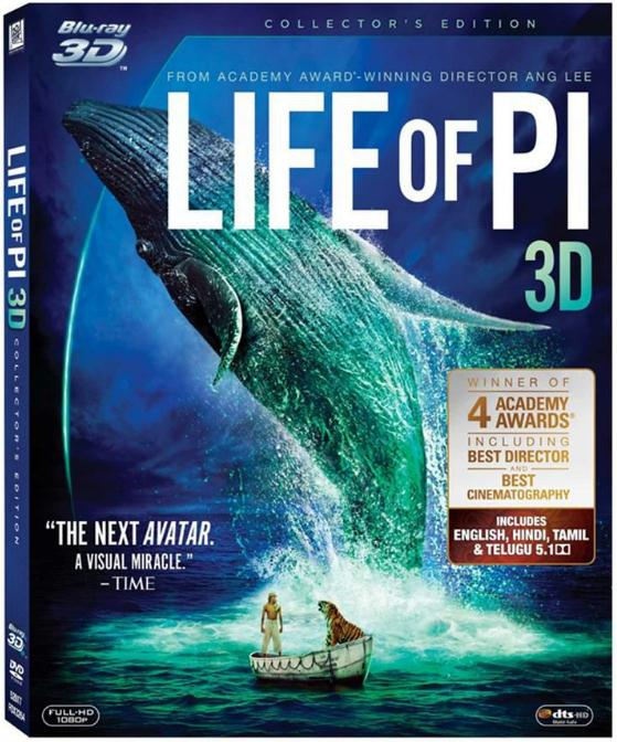 Life of Pi (2012) 3D HSBS 1080p Bluray x264-YTS