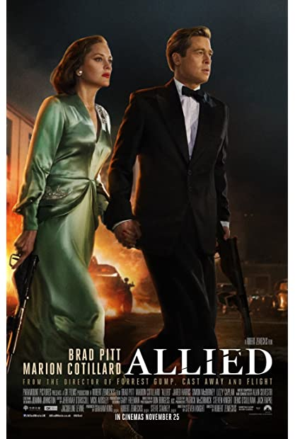 Allied (2016) (1080p BDRip x265 10bit EAC3 5 1 - r0b0t) TAoE mkv