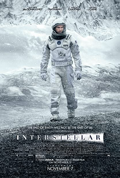 Interstellar (2014) BluRay 720p Hindi-Dub Dual-Audio x264