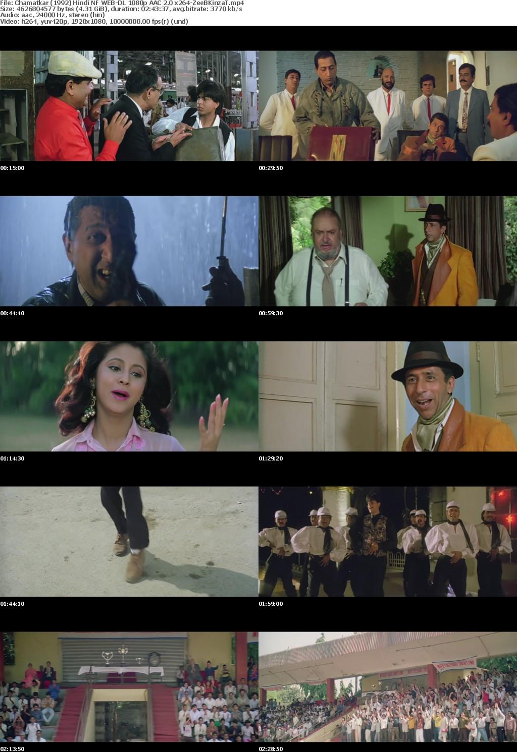 Chamatkar (1992) Hindi NF WEB-DL 1080p AAC 2 0 x264-ZeeBKinzaT mp4