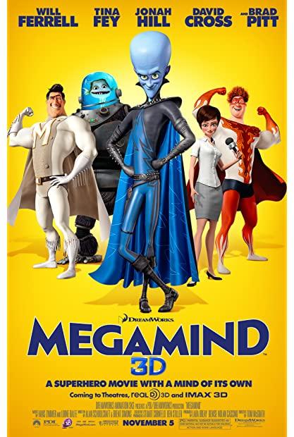 Megamind (2010) (1080p BDRip x265 10bit EAC3 5 1 - r0b0t) TAoE mkv