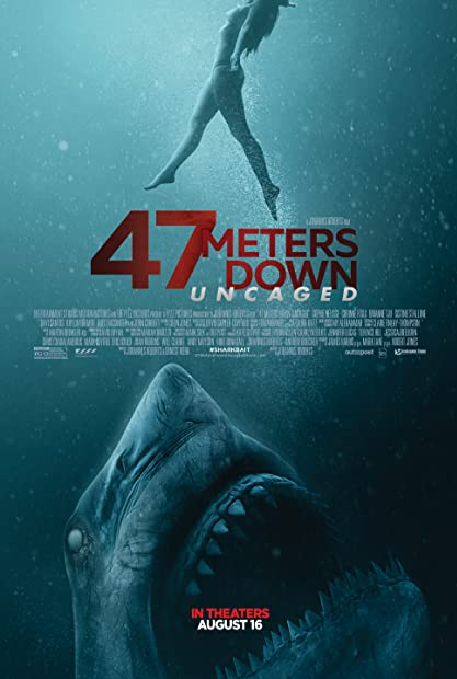 47 Meters Down Uncaged (2019) Dual Audio Hindi 720p BluRay ESubs - LMH123