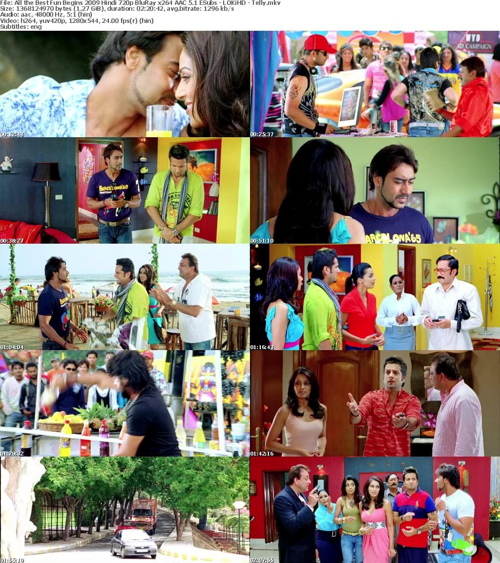 All the Best Fun Begins 2009 Hindi 720p BluRay x264 AAC 5 1 ESubs - LOKiHD - Telly