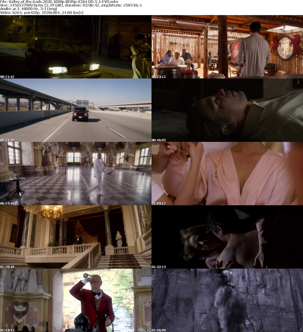 Valley of the Gods 2020 1080p BDRip X264 DD 5 1-EVO