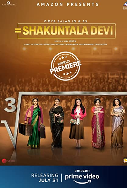 Shakuntala Devi (2020) Hindi 720p AMZN WEBRip 1 1 GB AAC 5 1 ESub x264 - Shadow (BonsaiHD)